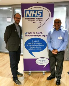 Danny Hames, Chair of the NHS SMPA, and Dinesh Visavadia, MD of ILLY Systems Ltd.